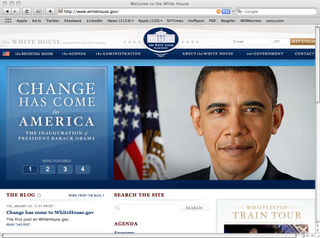 New-whitehouse.gov-site