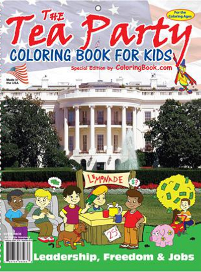 Tea-Party-Coloring-Cover