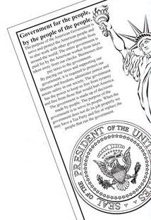 Tea Party Coloring Book text