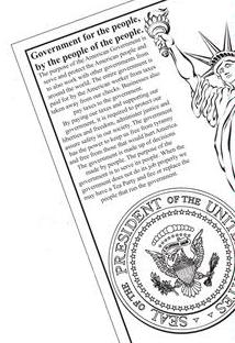 Tea Party Coloring Book text