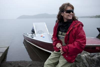 Sarah Palin boat