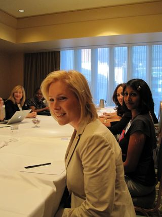 Sen Gillibrand listens to women in NY