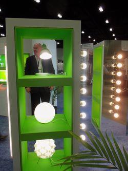 Viribright LED Lights at Go Green Expo