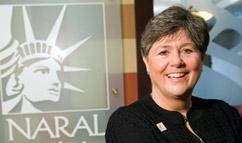 NARAL Pro Choice America President Nancy Keenan