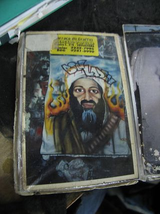 Osama bin Laden caricature