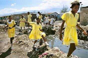 School_girls_haiti_by_mark_edwards_